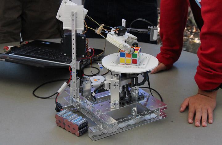 An example of the Robotics Teams previous work