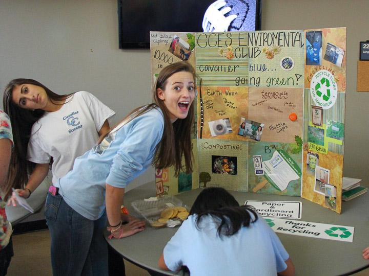 Students get excited about Environmental club