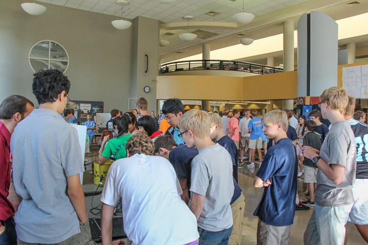 Students eagerly sign up for more clubs