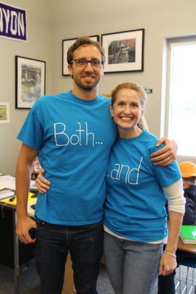 English teachers show off their grammar enthusiasm