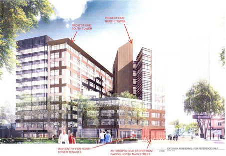 Plans for downtown construction