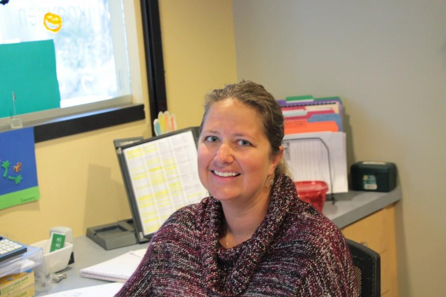 Mrs. Harling is the new secretary for the Upper School.