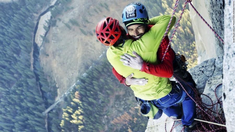 Following the Climbers on El Capitan