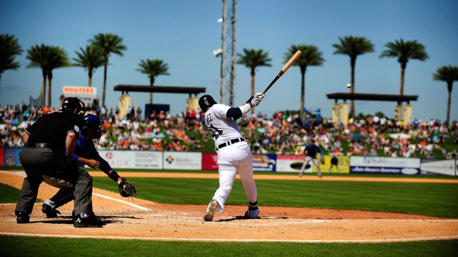 Spring Training games are held in Florida's Grapefruit League