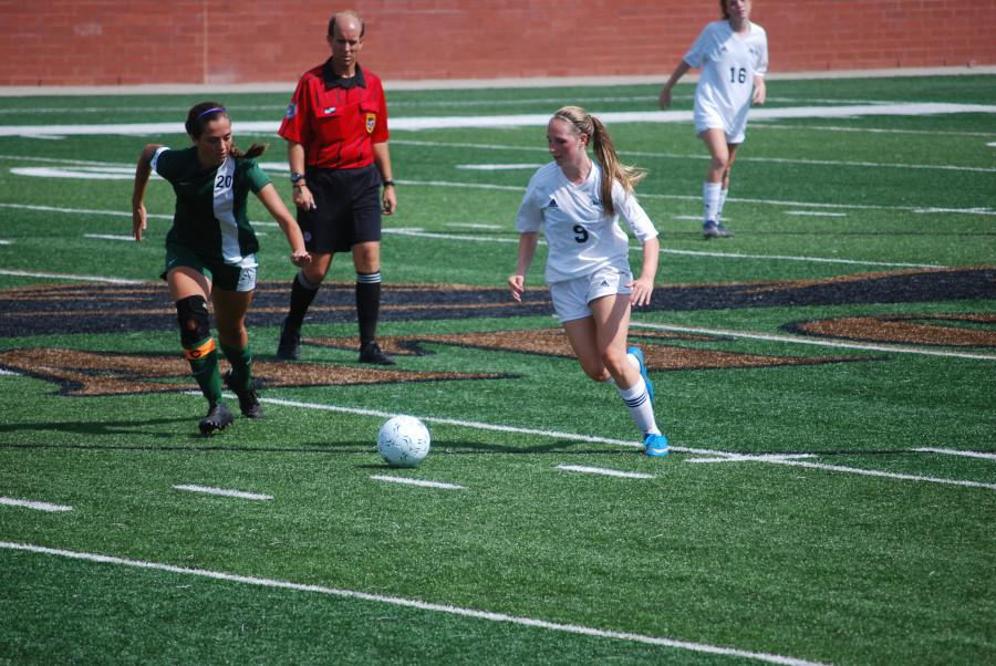 Christ Church lost to Academic Magnet in the girls soccer AA/A state championship (Conrad Pentaleri/Staff Photo).