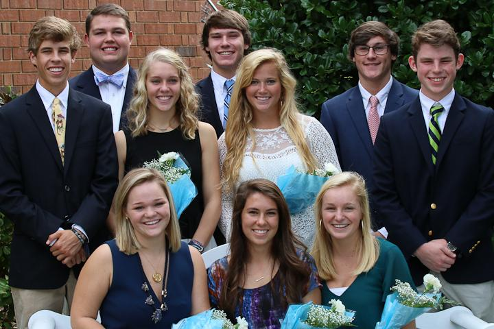 Last Friday, the Upper School assembled to vote on their homecoming queen (Schuyler O'Brien/ Staff Photo).