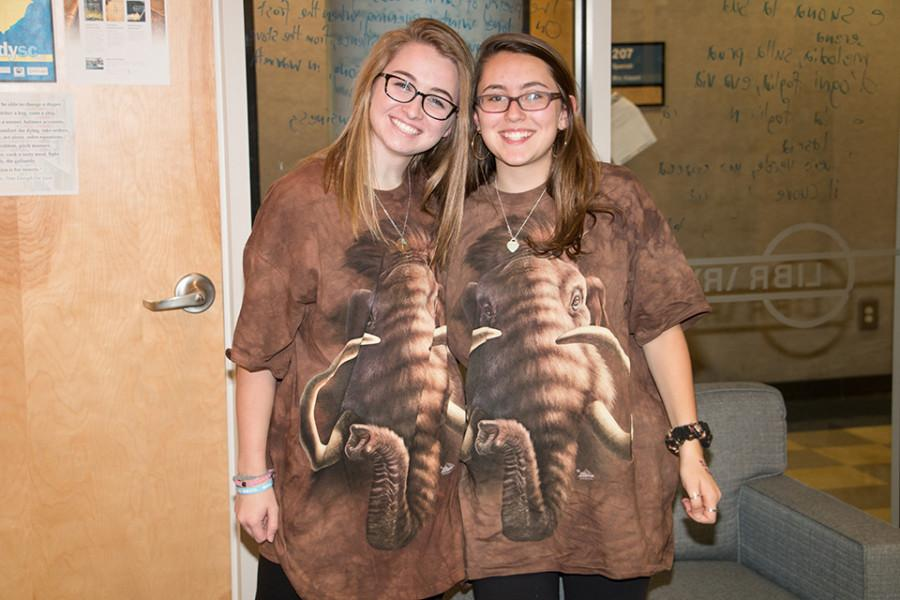 Students dressed up on the first day of Spirit Week for Ice Age Day (Schuyler O'Brien/Staff Photo).