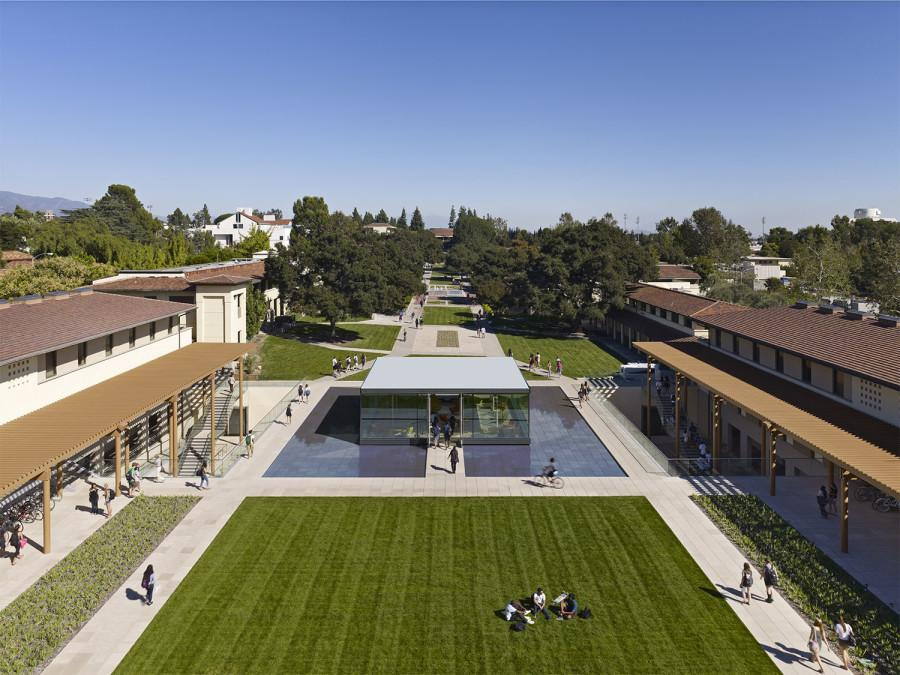 A view of Claremont's beautiful campus (http://www.cmc.edu).