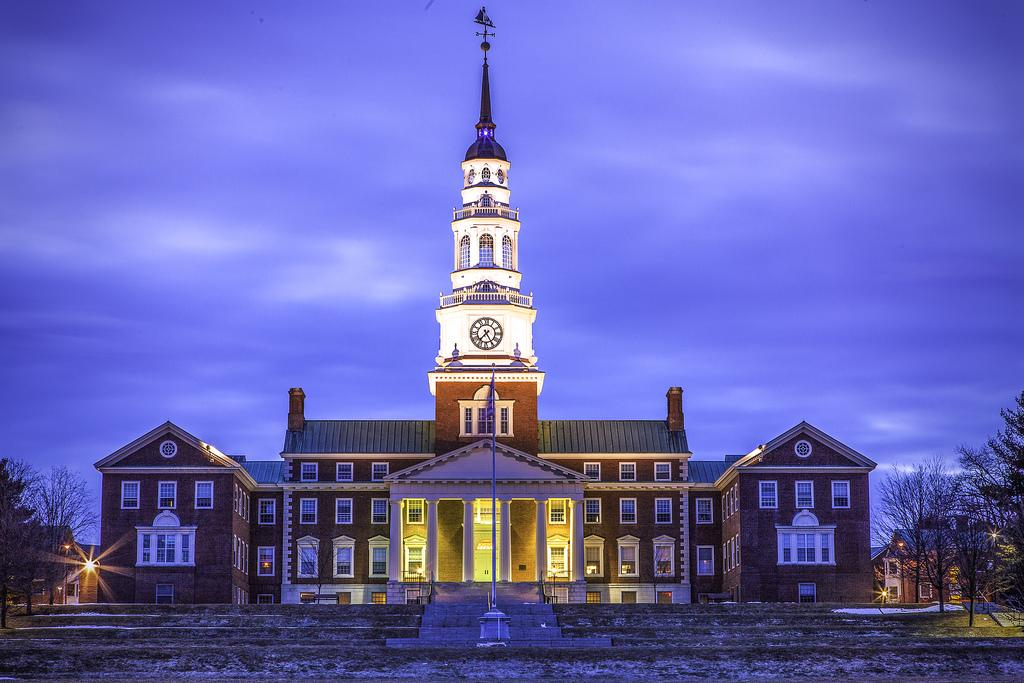 Miller Library at Colby College (Credit: Gary R. Smith)