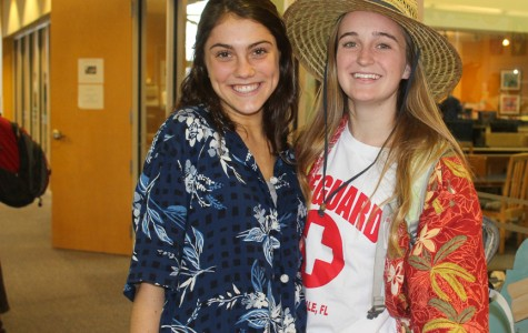 Christ Church Upper School students dressed up on Tuesday of Homegoing week as tacky tourists (Darcy Merline/Staff Photo).