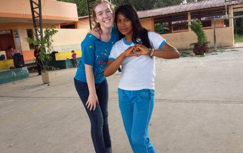 Olivia took a mission trip to Ecuador in 2014.