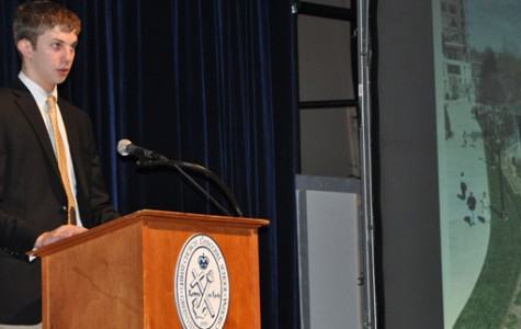William Allen, class of 2015, gave a presentation for his sophomore project three years ago (cces.org).