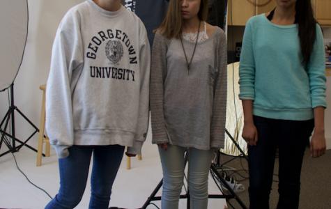 Upper School girls dread wearing jeans (Mikaela Towler/Staff Photo).