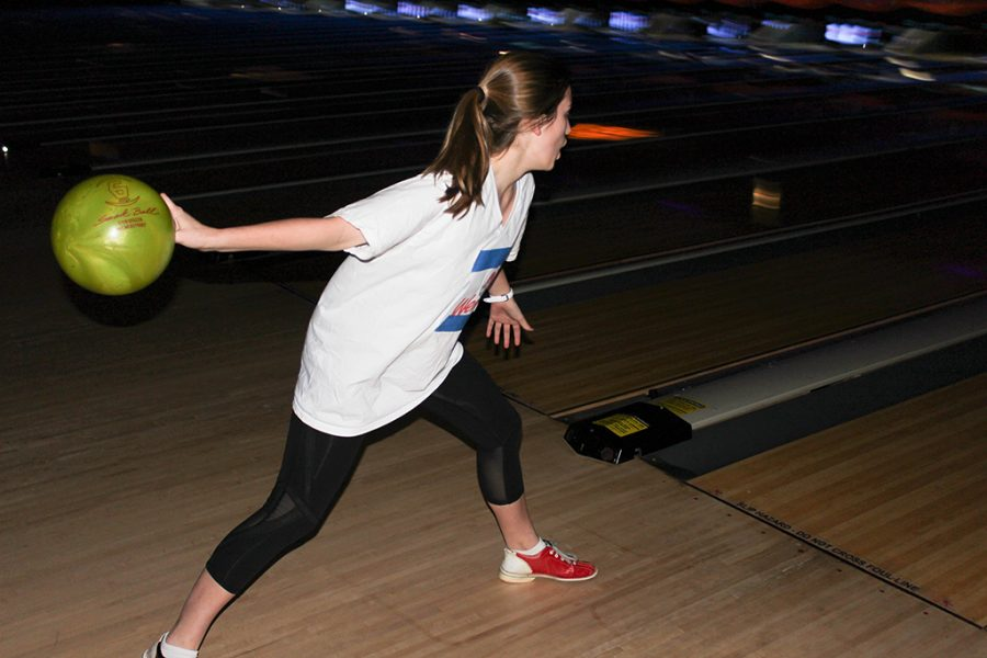 Upper School students bowled the night away on Wednesday of Spirit Week.