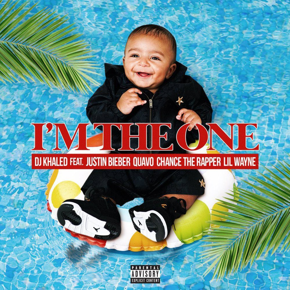 DJ Khaled's son is the primary focus on the cover of his new hit,