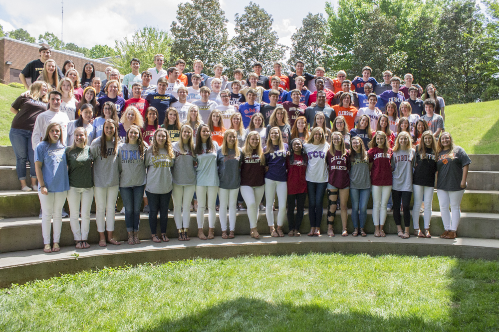 The class of 2017 on signing day