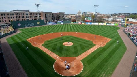 Cavalier Baseball wins their first game at Fluor Field