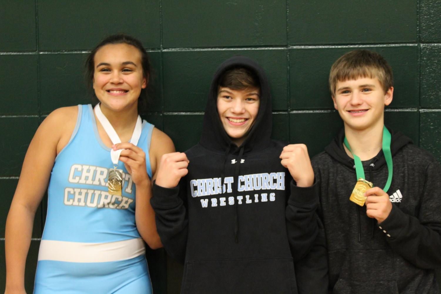 Dasia Yearby, Alex Eastland, and Rhodes Feild found success at the Raider Rumble this weekend