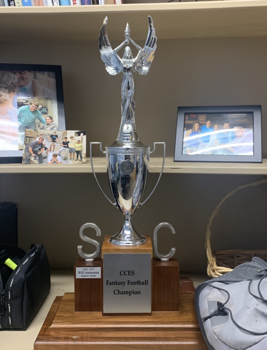 CCES Faculty Fantasy Football: The Race For The Trophy